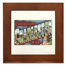 Charleston WV Framed Tile