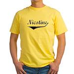 Nicotine Yellow T-Shirt