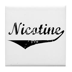 Nicotine Tile Coaster