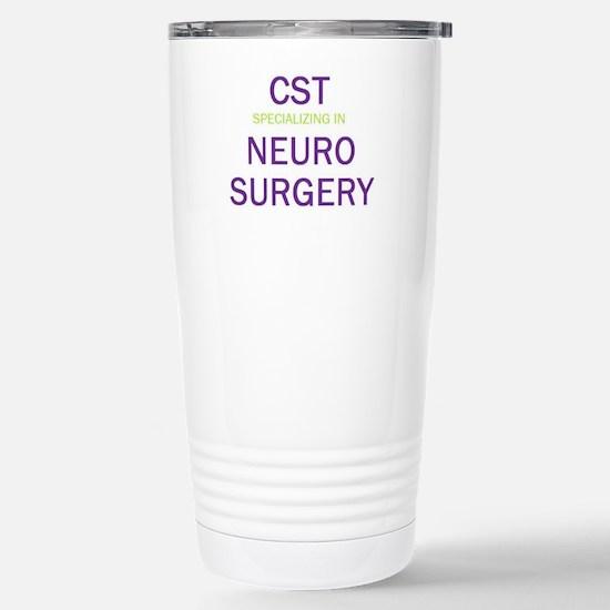 CST - Neuro Stainless Steel Travel Mug