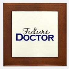 Future Doctor Framed Tile
