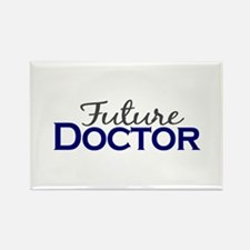 Future Doctor Rectangle Magnet