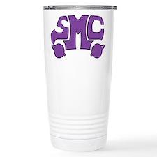 Purple SMC Van Logo Travel Mug