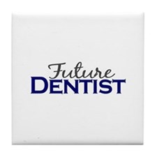 Future Dentist Tile Coaster