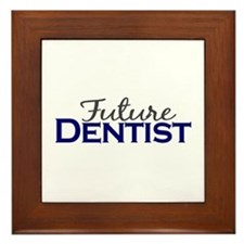 Future Dentist Framed Tile