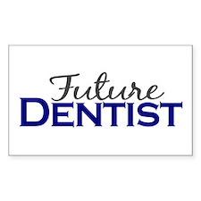 Future Dentist Rectangle Sticker 10 pk)