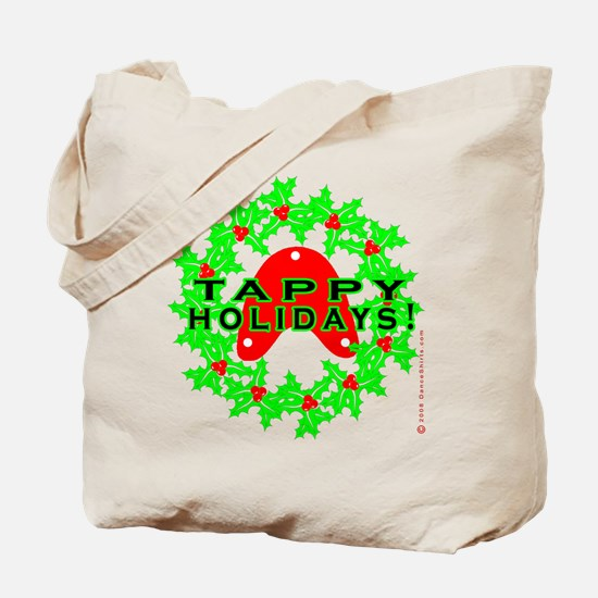 Tappy Holidays Designs for Ta Tote Bag