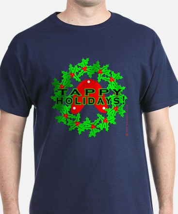 Tappy Holidays Designs for Ta T-Shirt