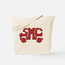 Red SMC Van Logo Tote Bag