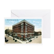 Eau Claire WI Greeting Card
