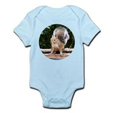 Gray Squirrel Infant Bodysuit