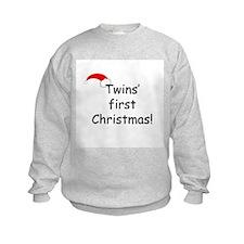 Twins First Xmas Sweatshirt