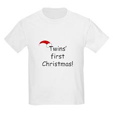 Twins First Xmas T-Shirt