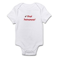 First twinsmas Infant Bodysuit