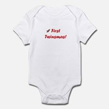 First twinsmas Infant Bodysuit