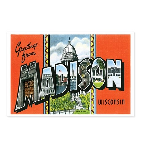 Madison WI Postcards (Package of 8)