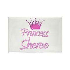 Princess Sheree Rectangle Magnet