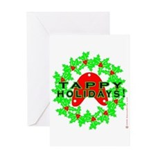 Tappy Holidays Designs for Ta Greeting Card