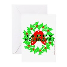 Tappy Holidays Designs for Ta Greeting Cards (Pk o