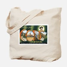 Cody Wyoming WY Tote Bag