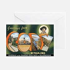 Cody Wyoming WY Greeting Card