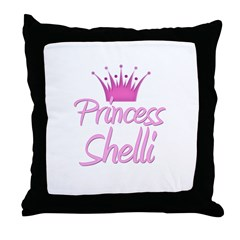 Princess Shelli Throw Pillow