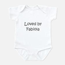 Cute Fabiola Infant Bodysuit