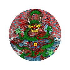 """Tibetan Dragon 3.5"""" Button (100 pack)"""