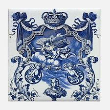 Blue & White Royale Tile Coaster