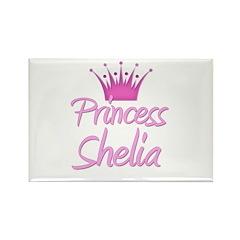 Princess Shelia Rectangle Magnet