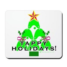 Tappy Holidays Christmas Tree Mousepad