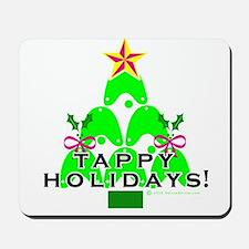 Tappy Holidays Christmas Tree Mousepad