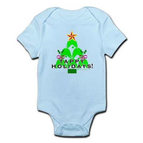 Tappy Holidays Christmas Tree Infant Bodysuit