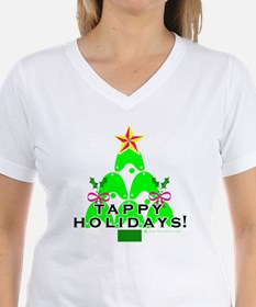 Tappy Holidays Christmas Tree Shirt