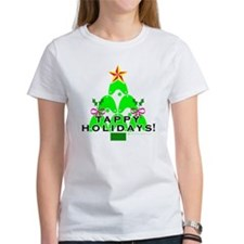 Tappy Holidays Christmas Tree Tee