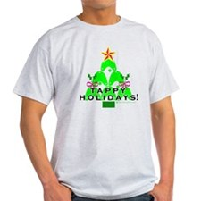 Tappy Holidays Christmas Tree T-Shirt