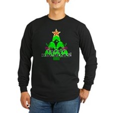 Tappy Holidays Christmas Tree T