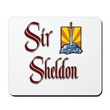 Sir Sheldon Mousepad