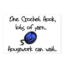 Unique Crochet Postcards (Package of 8)