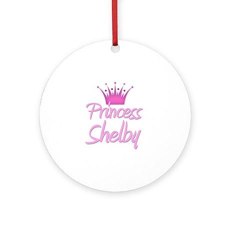 Princess Shelby Ornament (Round)