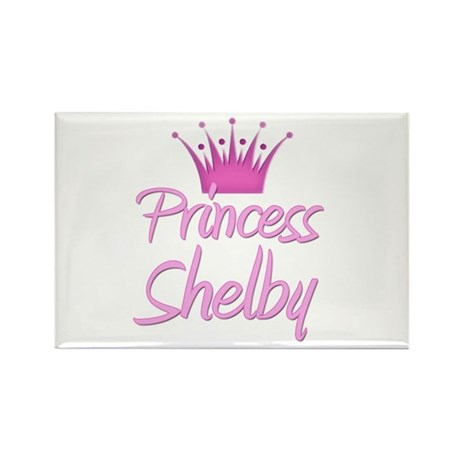 Princess Shelby Rectangle Magnet