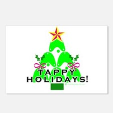 Tappy Holidays Christmas Tree Postcards (Package o