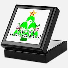 Tappy Holidays Christmas Tree Keepsake Box