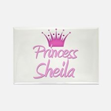 Princess Sheila Rectangle Magnet