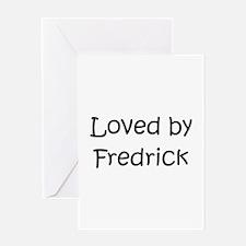 Cute Fredrick name Greeting Card