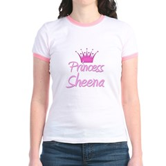 Princess Sheena Jr. Ringer T-Shirt