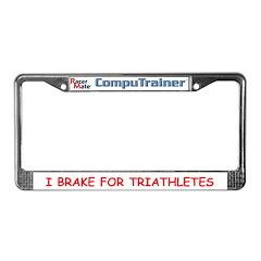 CompuTrainer License Plate Frame