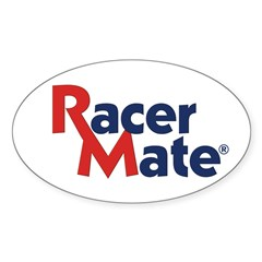 RacerMate Oval Decal