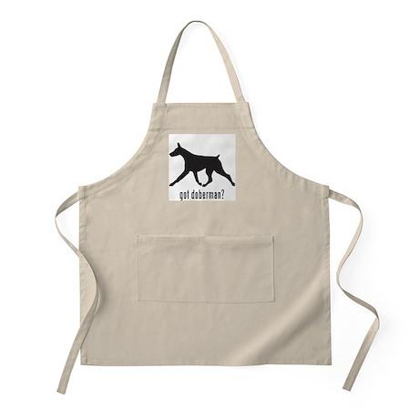 Doberman 2 BBQ Apron