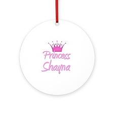 Princess Shayna Ornament (Round)
